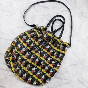 Disney|Mickey Mouse Canvas Bucket Bag